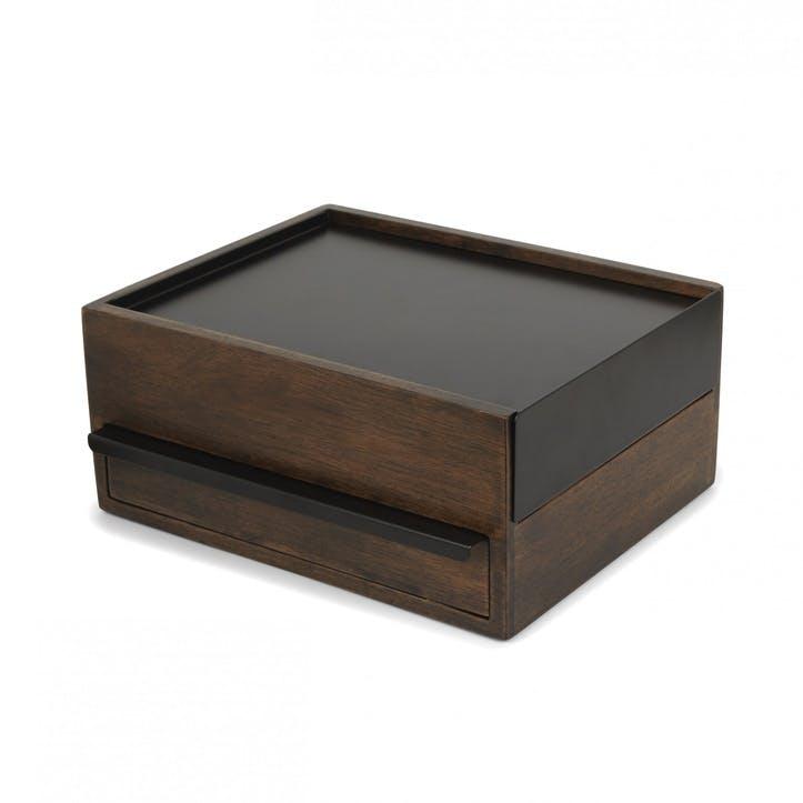 Stowit Jewellery Box, Walnut
