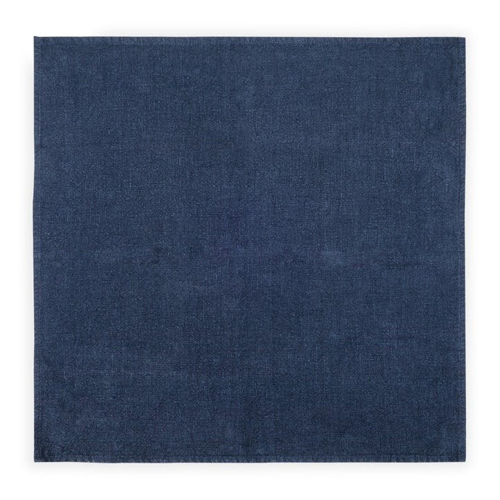 Linen Napkin; Midnight Blue