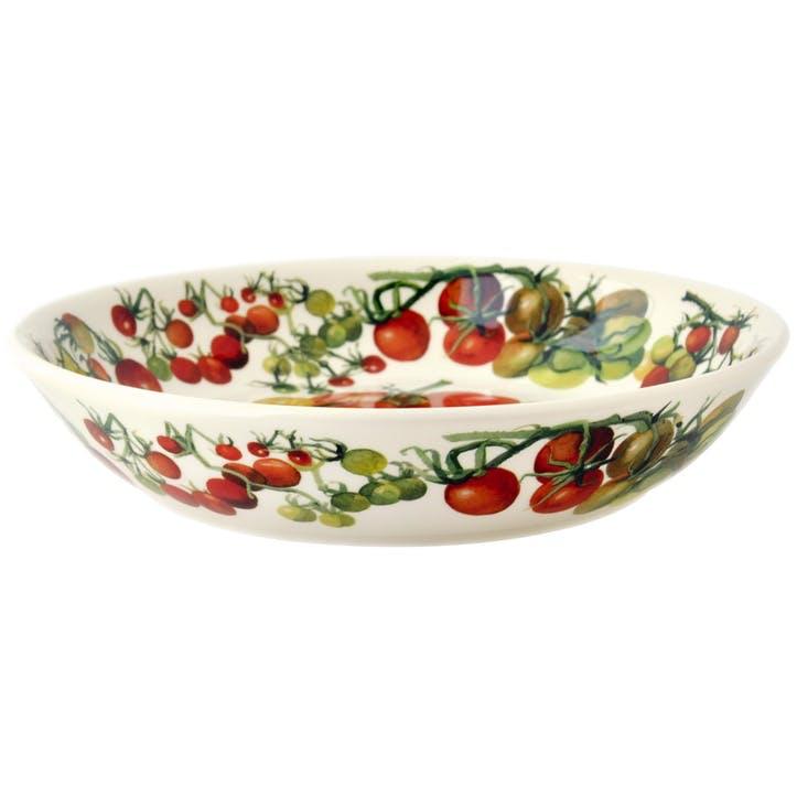 Vegetable Garden Tomatoes Pasta Bowl, 23cm