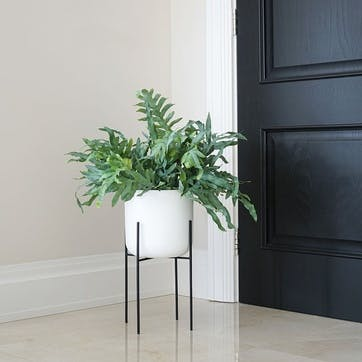 Luso, Plant Stand, Black