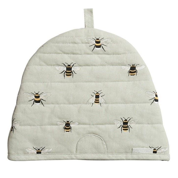 'Bees' Beehive-Shaped Tea Cosy