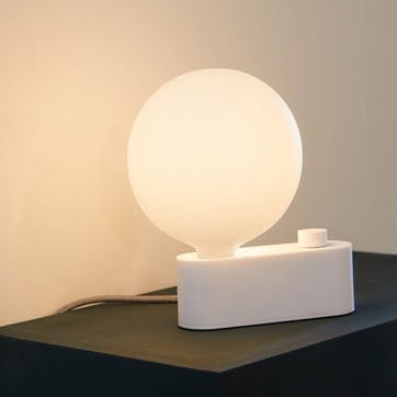 Alumina Table Lamp H28 x W15 White