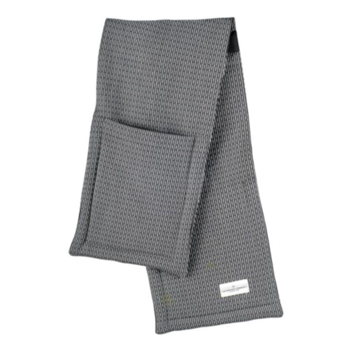 Pique Oven Gloves, L100 x W22cm, Evening Grey