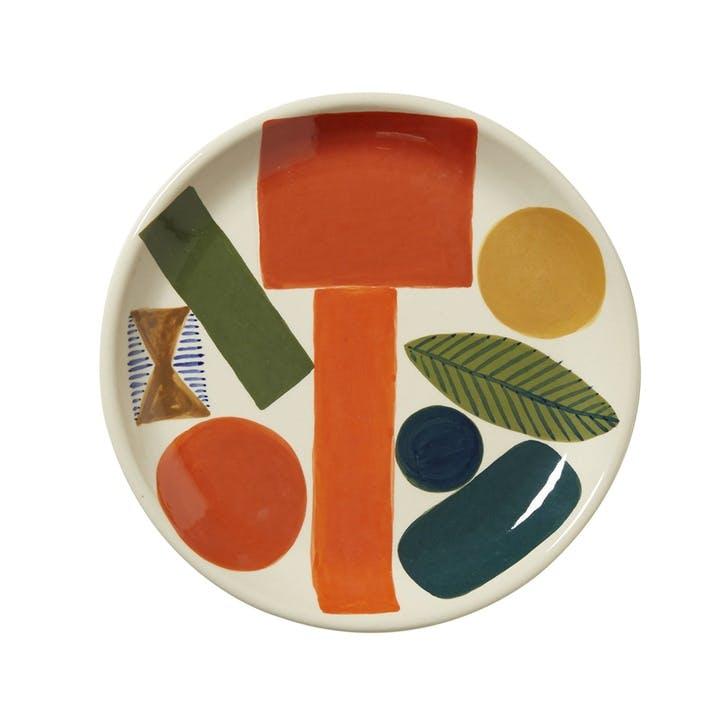 Autumn Leaf Side Plate, 19cm, Multi