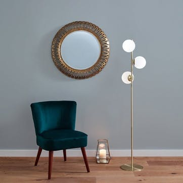 Monroe Floor Lamp, Gold