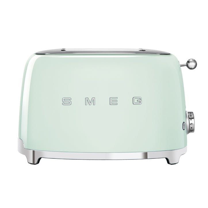 2 Slice Toaster, Pastel Green