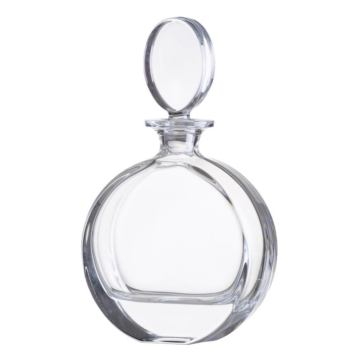 Plain Disc Crystal Decanter