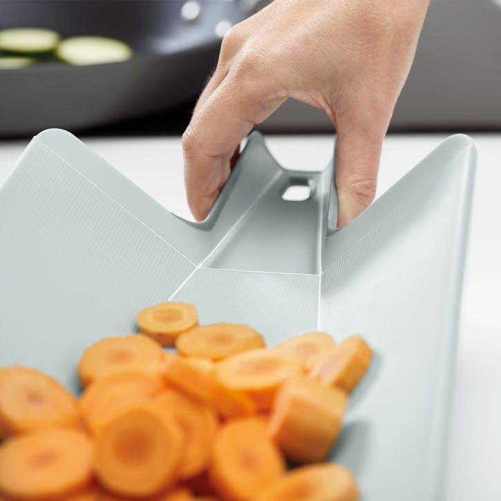 Chop2Pot Folding Chopping Board, Large, Dove Grey