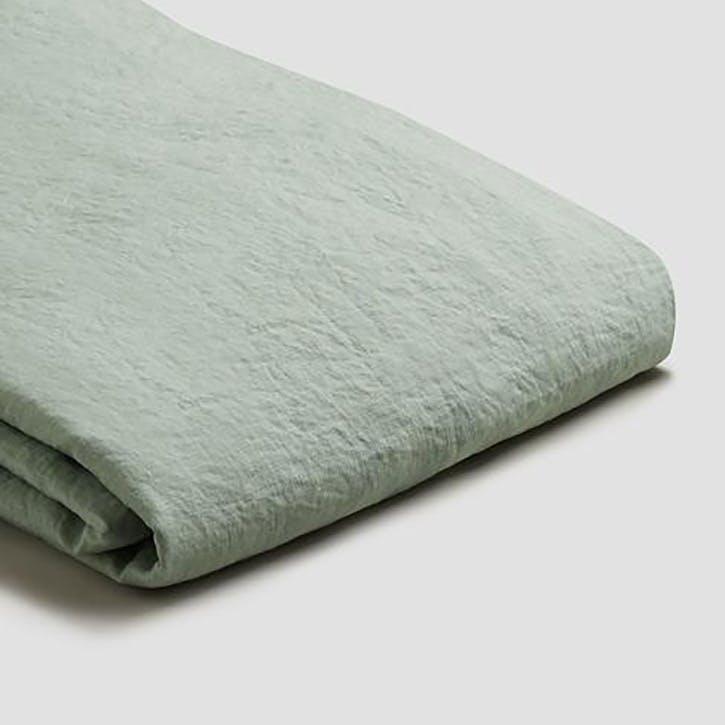 Complete Bedding Bundle Super King Set Sage Green