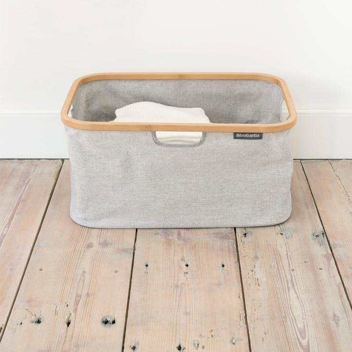 Linn Foldable Laundry Basket, Grey