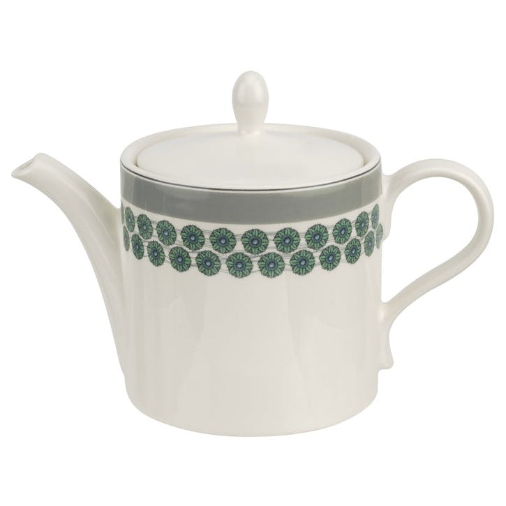 Westerly Teapot, 2pt; Grey Band