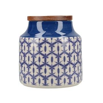 Drift Batik Storage Jar
