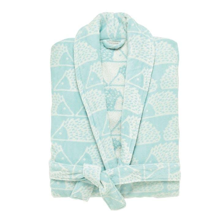 Spike Bath Robe MED/LRG, Aqua
