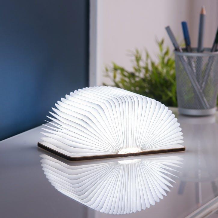 LED Smart Book Light, Mini, Maple