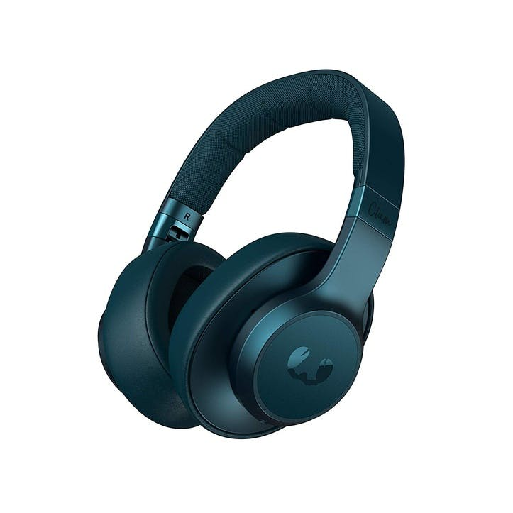 Clam BlueTooth Noise Cancelling Headphones; Petrol Blue