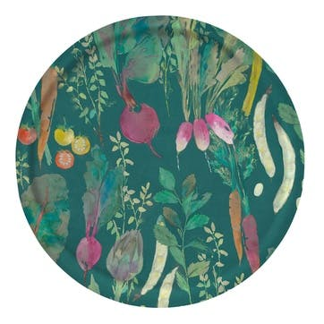 Vegetable Patch Tray, Circular, Chard