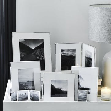 Fine Silver Photo Frame 5x7''