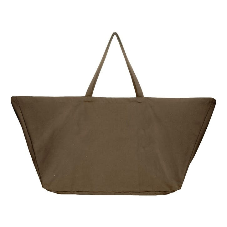 Canvas Big Long Bag, L100 x W35 x H50cm, Clay