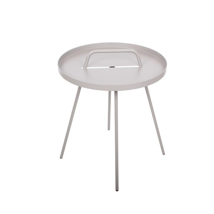 Emile Side Table, Grey