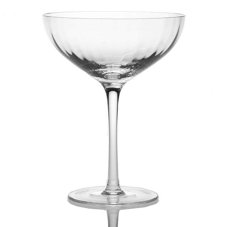 Corinne Champagne Coupes, Set of 2