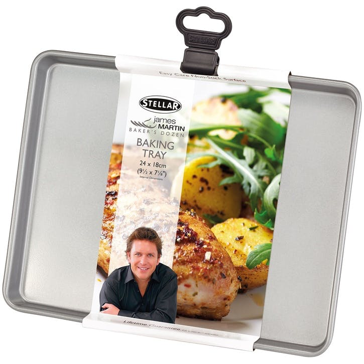 James Martin Bakers Dozen Baking Tray; 24 x 18 x 1.5cm