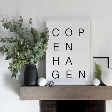 'Copenhagen' Print - 30 x 40cm