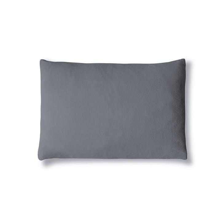 Lens Housewife Pillowcase, Single, Charcoal