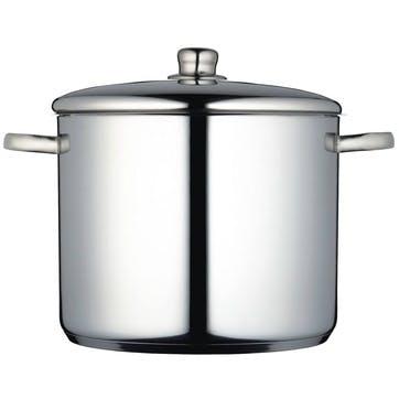 Stockpot, 14 litre, Stainless Steel