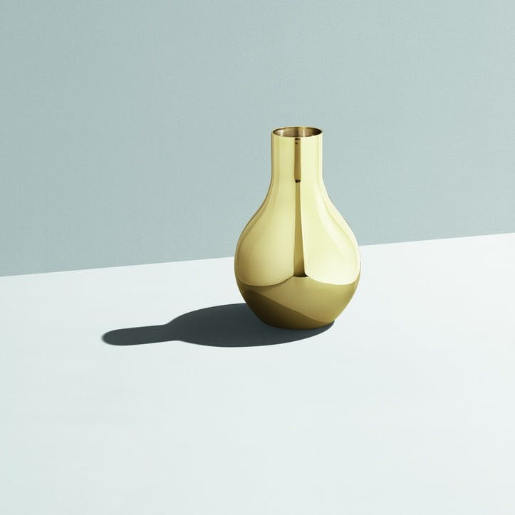 Cafu Gold-Plated Vase