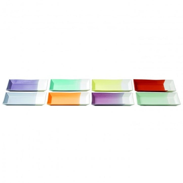 1815 Brights Rectangular Serving Tray, Set of 8