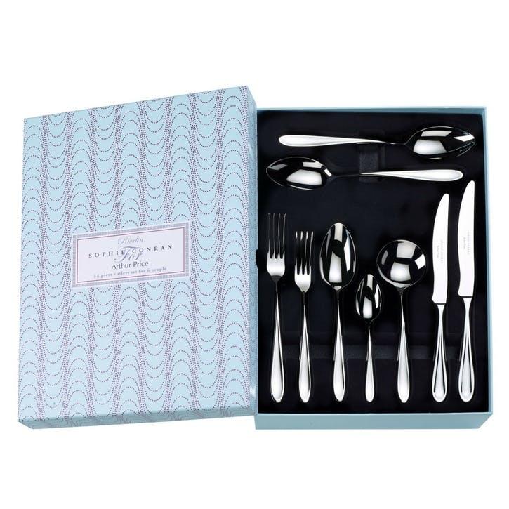 Rivelin Cutlery Set, 44 Piece