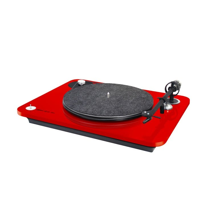 Omega 100 RIAA Bluetooth Turntable, Red