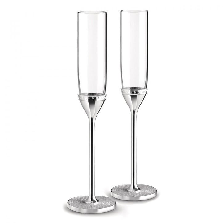 With Love Nouveau Toasting Flute, Set of 2