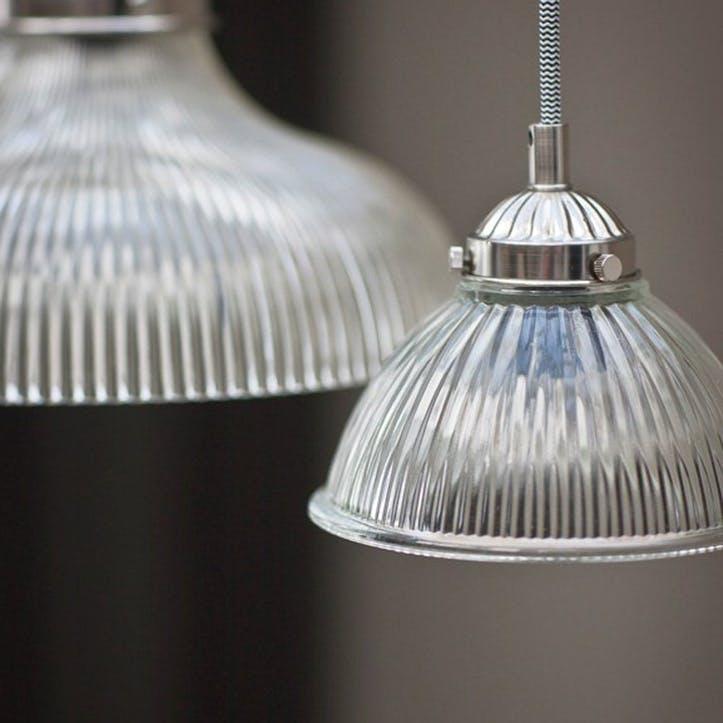 Petit Paris Pendant Light, Glass