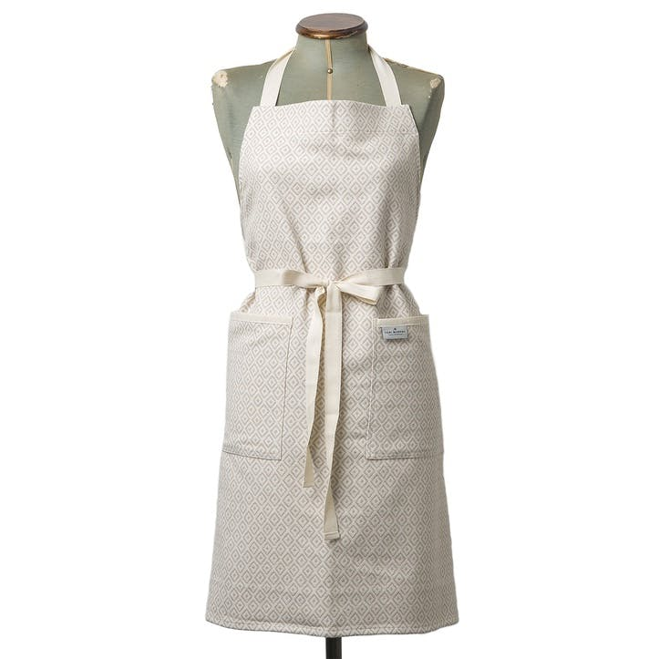 Broadway Apron; Fawn On Linen