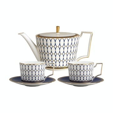 Renaissance Gold Tea Set