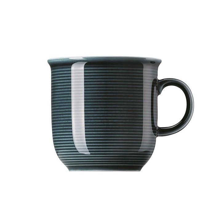 Trend, Large Mug With Handle, Night Blue