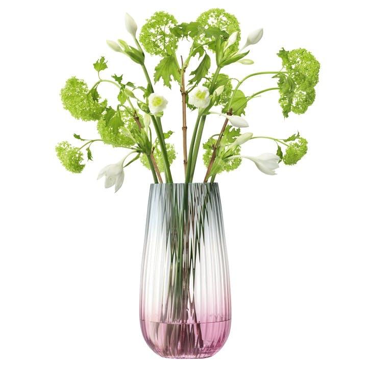 Nordal Ring Bottle Vase Dark Green