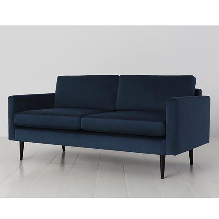 2 Seater Sofa, Model 01, Teal