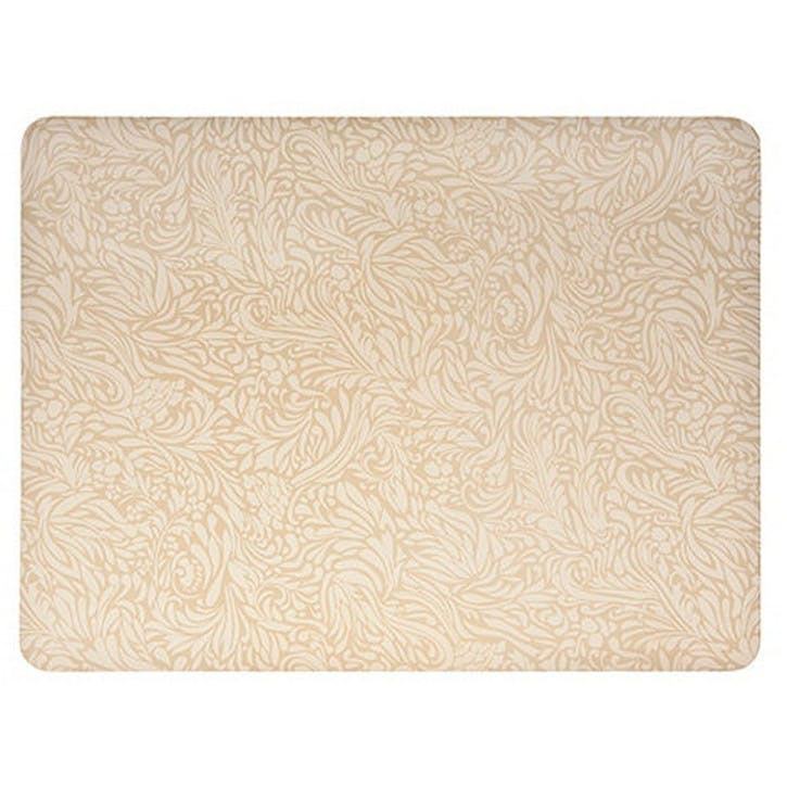 Lucille Gold Set of 4 Tablemats, 30.5cm