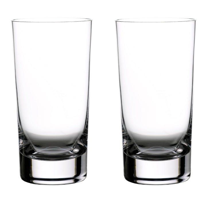 Elegance Gin Hi Ball Glass, Set of 2