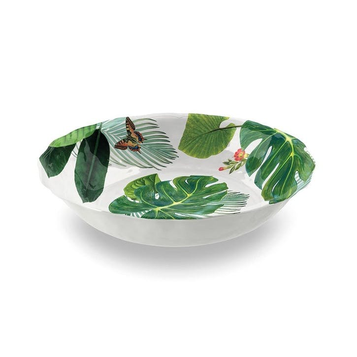 Amazon Floral Melamine Salad Bowl, 35cm