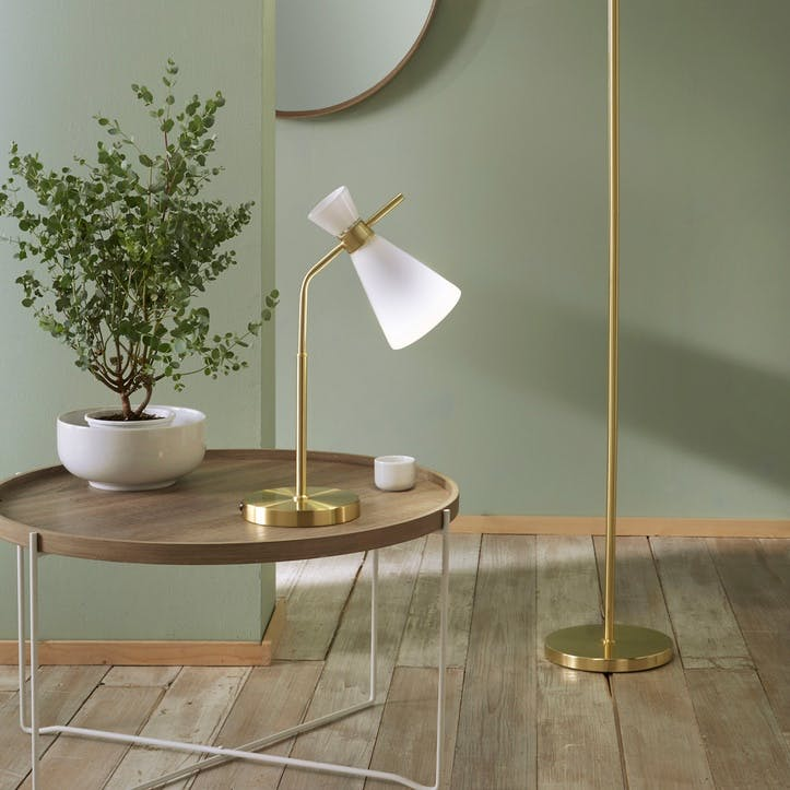 Austin Table Lamp, Gold