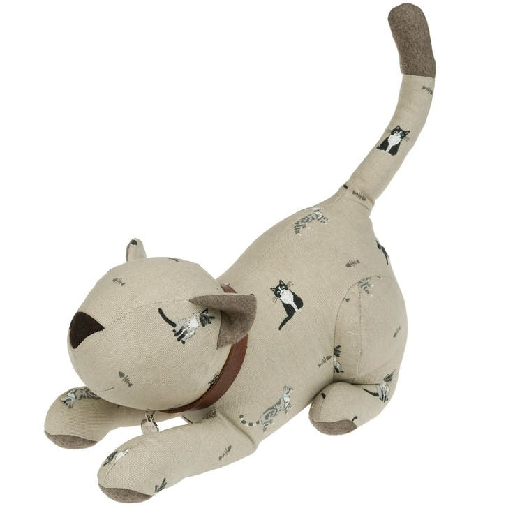 'Purrfect' Door Stop