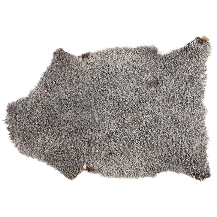 Visby Sheepskin, Natural Grey