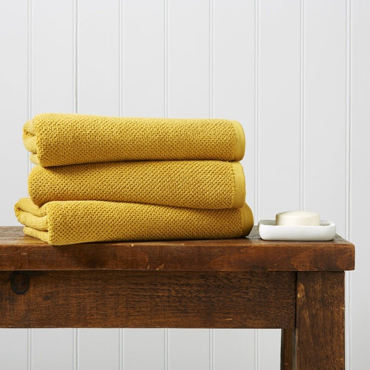 Brixton Bath Sheet, Saffron