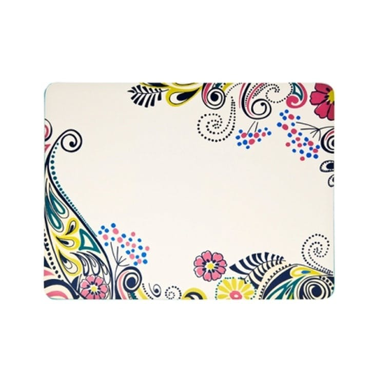 Cosmic Cream Set of 4 Tablemats, 30.5cm
