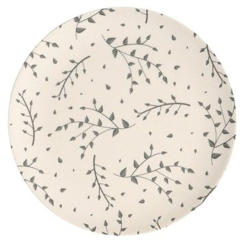 Natural Elements Bamboo Fibre Snack Plate, Set of 4