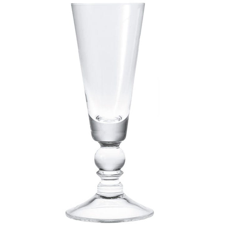 Nailsea Champagne Flutes, Set of 4