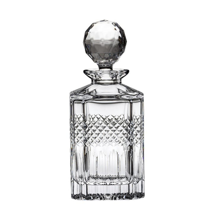 Diamonds Crystal Square Spirit Decanter